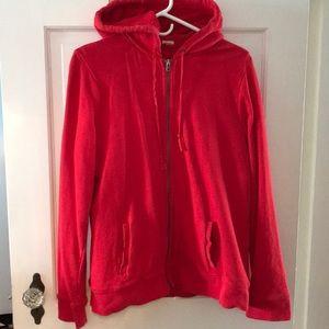 Sherpa lines hoodie